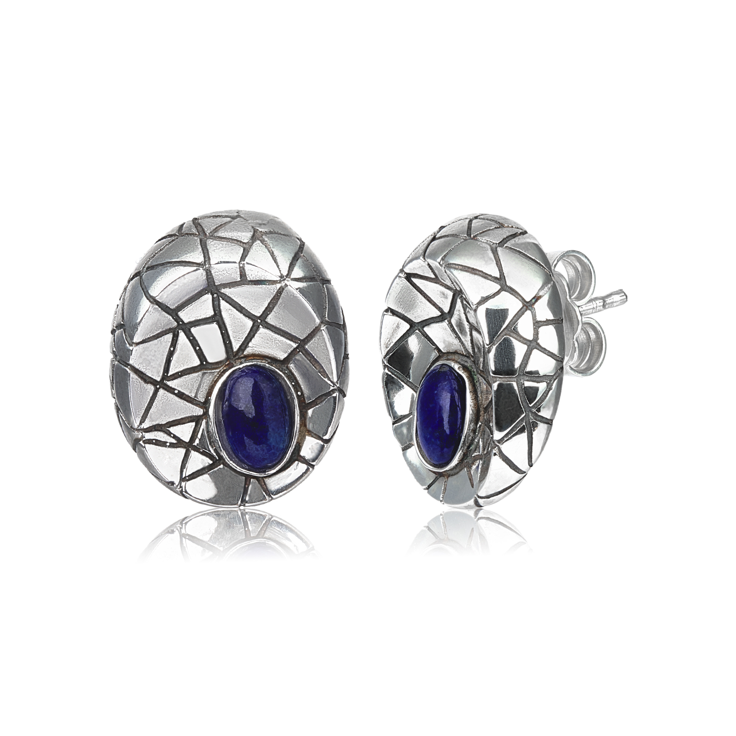 Lapislazuli small earrings