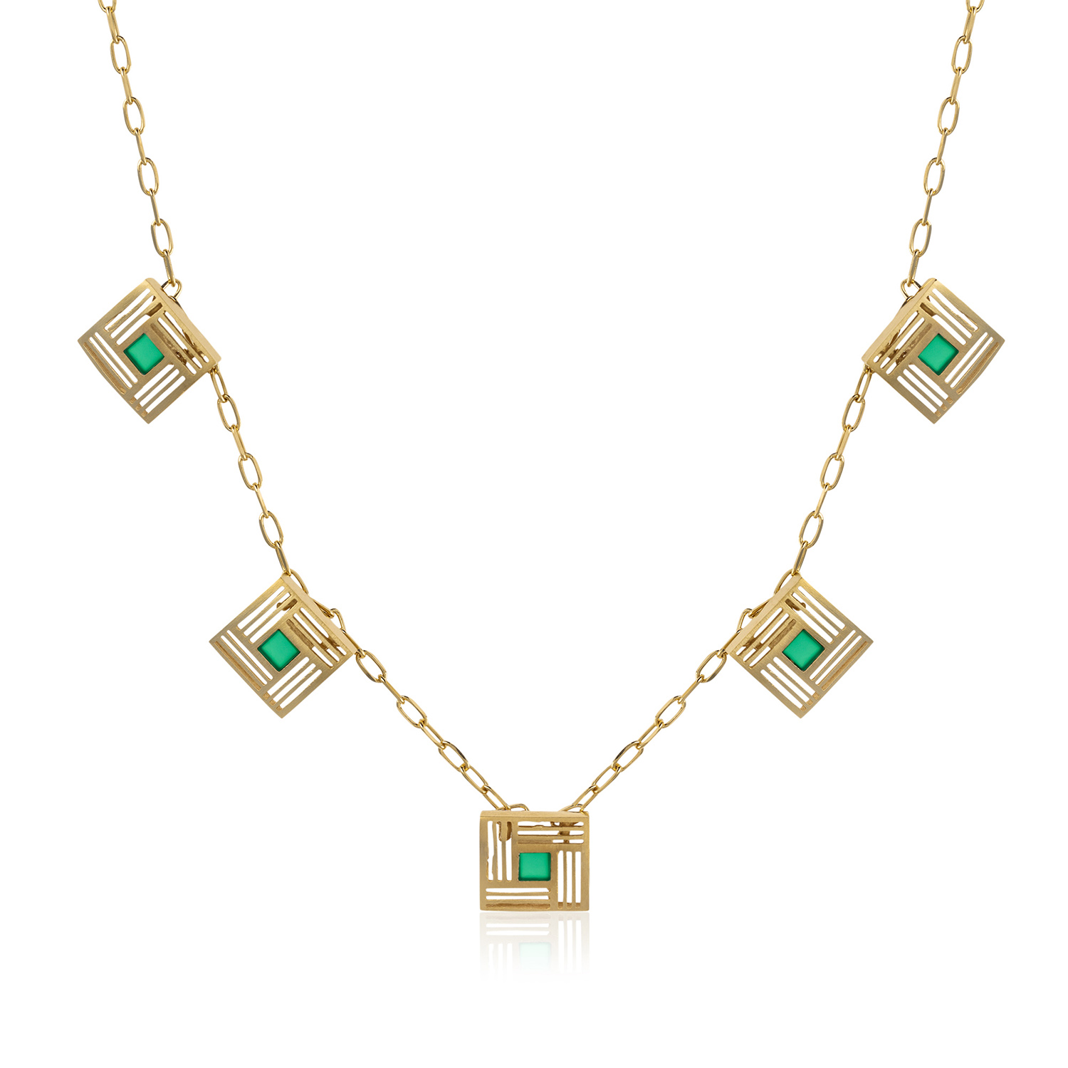 5 pieces Llum necklace