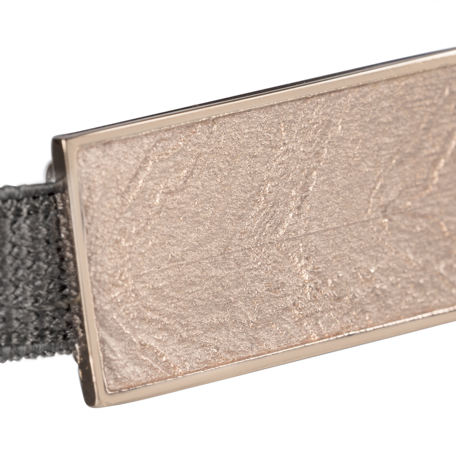 Mies bracelet in rose gold silver plated