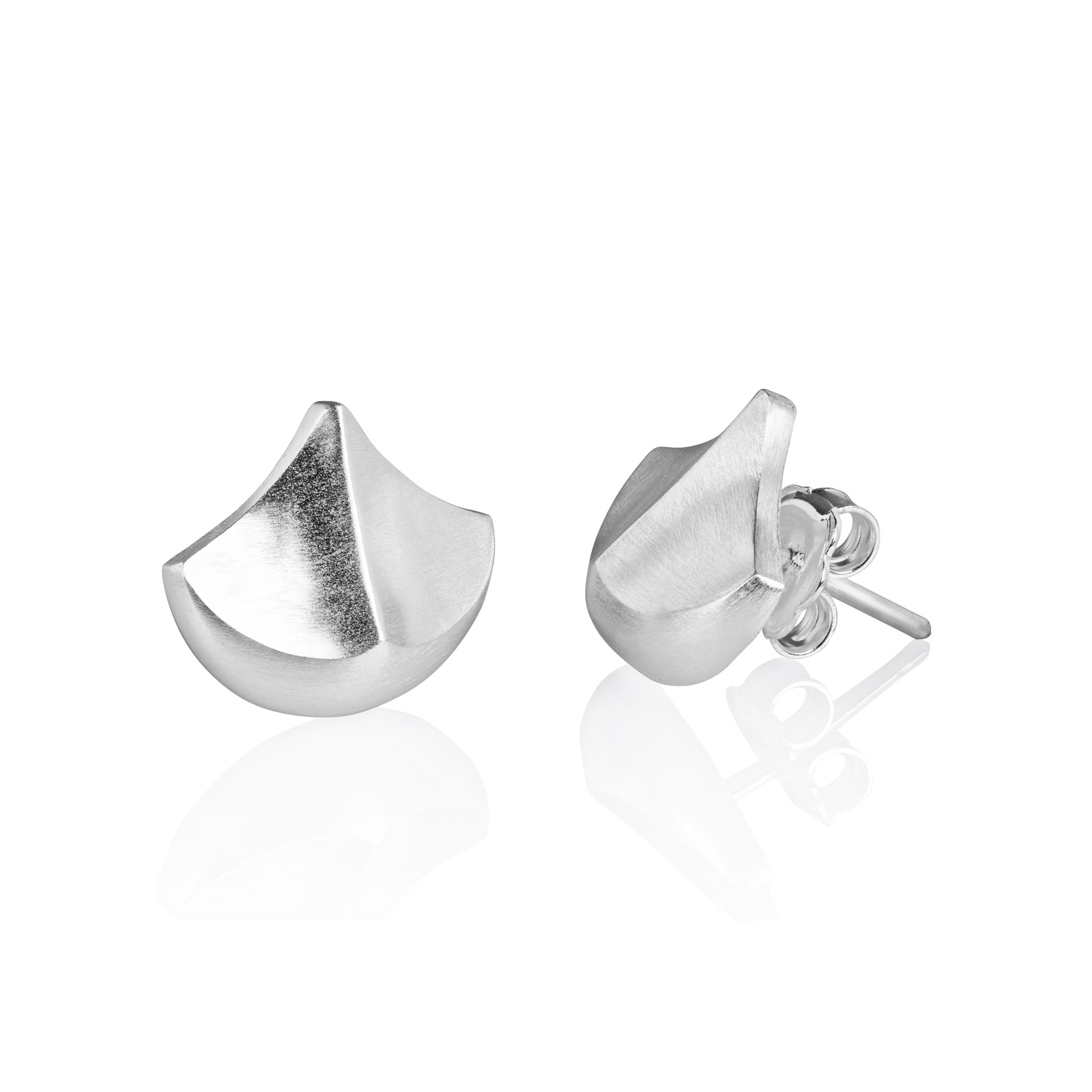 Silver Teules earrings